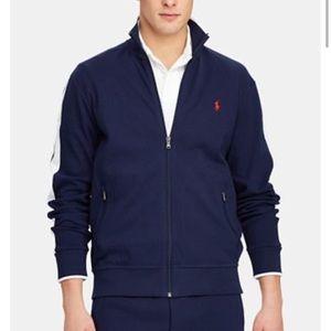 Polo Ralph Lauren Men Cotton Track Jacket Navy 2X
